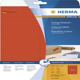 Herma 5059 rot Universal-Etiketten 10.5x4.23 cm (20 Blatt (280 Etiketten))
