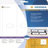 Herma 5167 blickdicht schmal Hängeordneretiketten 3.4x29.7 cm (25 Blatt (125 Etiketten))