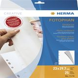 Herma Fotokarton 230 x 297 mm weiß 25 Blatt