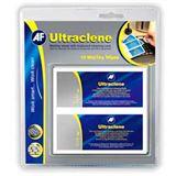 (€0,40*/1L) AF International Ultraclene Computermäuse / Kunststoff / Taschenrechner / Tastatur Reinigungstücher 10 Stück Beutel (ULT010)