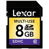8 GB Lexar Premium 200x SDHC Class 10 Retail