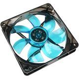 Cooltek Silent Fan 120 120x120x25mm 1200 U/min 16.1dB(A) schwarz/blau