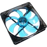 Cooltek Silent Fan 140 Blue 140x140x25mm 900 U/min 13.9 dB(A) schwarz/blau