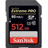 512 GB SanDisk Extreme SDXC Class 10 U1 Retail