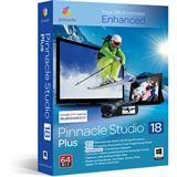 Corel Pinnacle Studio 18 Plus 32/64 Bit Deutsch Videosoftware Vollversion PC (DVD)