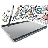 Wacom Intuos Pen & Touch S CTH-480S 152x95 mm USB schwarz/silber