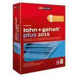 Lexware Lohn + Gehalt Plus 2015 32/64 Bit Deutsch Finanzen Vollversion PC (CD)