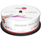 Primeon DVD+R DL 8.5 GB bedruckbar 25er Spindel (2761252)