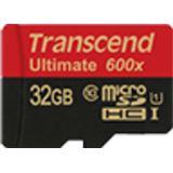 32 GB Transcend Ultimate microSDHC Class 10 U1 Retail inkl. Adapter