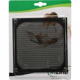 InLine Lüftergitter, Aluminium Filter, 140x140mm, schwarz