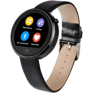 Hannspree Smartwatch Pulse SW21SZ71B Bluetooth schwarz