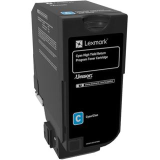 Lexmark Toner Rück. CX725 cyan