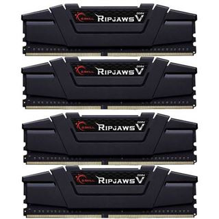 64GB G.Skill RipJaws V schwarz DDR4-3200 DIMM CL15 Quad Kit