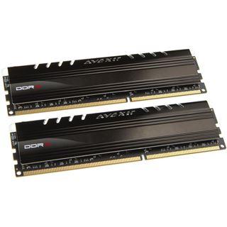 8GB Avexir Core Series blue LED DDR3-1600 DIMM CL11 Dual Kit