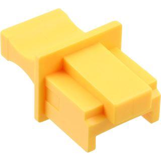 InLine Staubschutz für RJ45 Buchse Farbe: gelb 100er Pack
