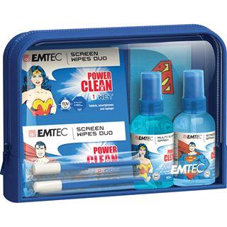 (€4,88*/100ml) EMTEC Travel Essentials Bildschirm / Display / Smartphones / Tablet Reinigungskit 100ml Tasche (ECCLTRAVELKIT)