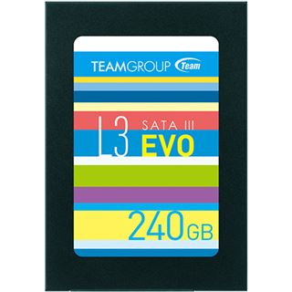 """240GB TeamGroup L3 EVO 2.5"""" (6.4cm) SATA 6Gb/s TLC Toggle (T253LE240GTC101)"""