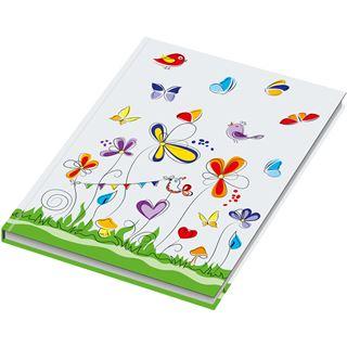 "RNK Verlag Notizbuch ""Schmetterlinge"", DIN A4, blanko"