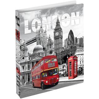 "HERMA Ringbuch, DIN A4 ""Trendmetropolen London"""