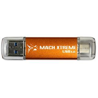128 GB Mach Xtreme Technology Barium Series orange USB 3.0