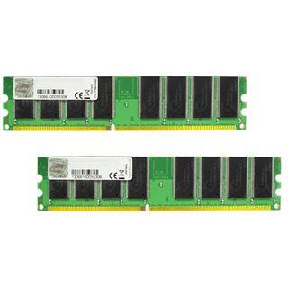 2GB G.Skill NT Series DDR-400 DIMM CL3 Dual Kit