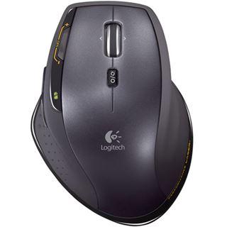 Logitech Wireless MX1100 Laser Maus Schwarz USB