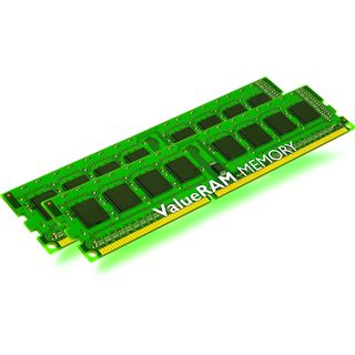 8GB Kingston ValueRAM DDR3-1066 ECC DIMM CL7 Dual Kit