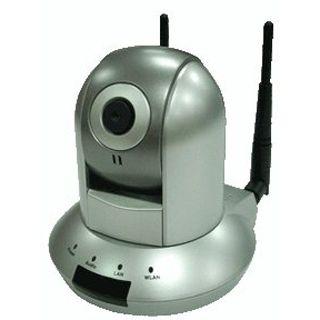 LogiLink Wireless LAN 802.11n Pan-Tilt IP MPEG4 Kamera