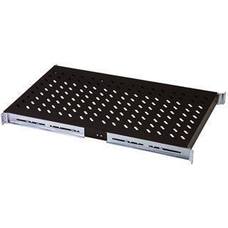 Digitus ausziehbarer Fachboden für Netzwerk- und Serverschränke schwarz (DN-19 TRAY-2-1000-SW)