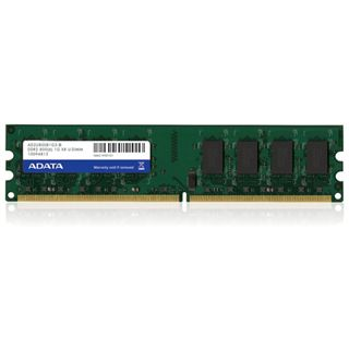 1GB ADATA Value DDR2-800 DIMM CL6 Single
