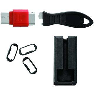 Kensington USB Port Locks w Cable Guard Square