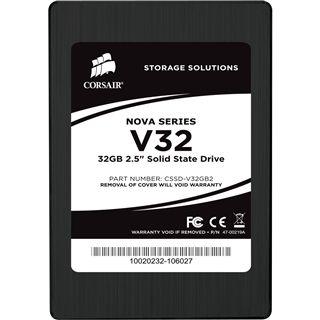 "32GB Corsair Nova Series 2.5"" (6.4cm) SATA 3Gb/s MLC asynchron (CSSD-V32GB2-BRKT)"