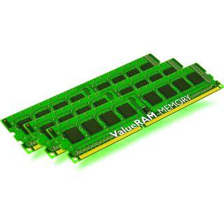 24GB Kingston ValueRAM Intel DDR3-1066 regECC DIMM CL7 Tri Kit