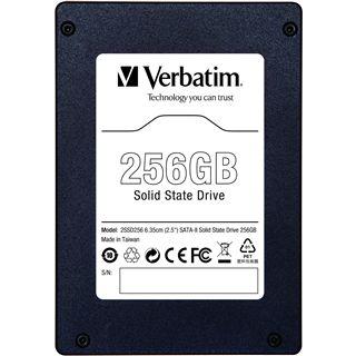 """256GB Verbatim SSD 2.5"""" (6.4cm) SATA 3Gb/s MLC asynchron (47475)"""
