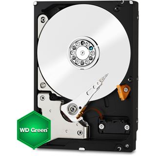 """500GB WD Green WD5000AZRX 64MB 3.5"""" (8.9cm) SATA 6Gb/s"""