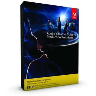 Adobe Creative Suite 6.0 Production Premium 64 Bit Deutsch Grafik EDU-Lizenz PC (DVD)