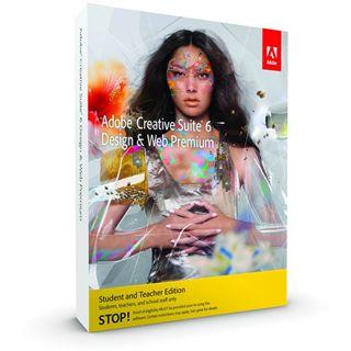 Adobe Creative Suite 6.0 Design und Web Premium Deutsch Grafik EDU-Lizenz Mac (DVD)