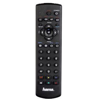 Hama Universal-Fernbedienung 8in1 schwarz