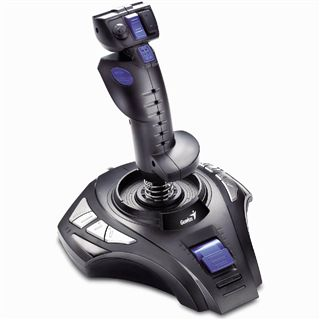 Genius MetalStrike 3D USB schwarz/blau PC