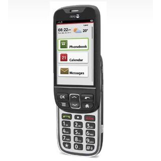 doro PhoneEasy 740 512 MB schwarz