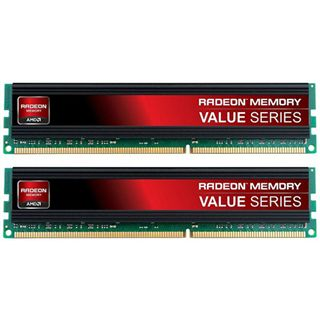 8GB Patriot AMD Memory Value Serie DDR3-1600 DIMM CL11 Dual Kit