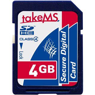 4 GB takeMS SDHC Class 4 Retail