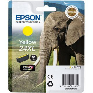 Epson Tinte 24 XL C13T24344020 gelb