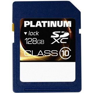 128 GB Platinum BestMedia SDXC Class 10 Retail
