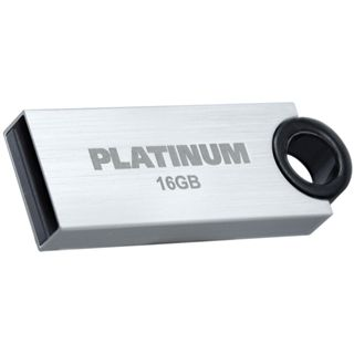 16 GB Platinum HighSpeed Slender silber USB 2.0