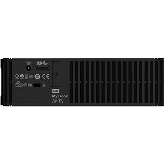 "2000GB WD My Book AV-TV WDBGLG0020HBK-EESN 3.5"" (8.9cm) USB 2.0/USB 3.0 schwarz"