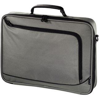 Hama Notebook-Tasche Sportsline Bordeaux, Displaygr. bis 44 cm (17,3), Grau