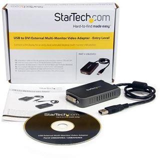 Startech USB-Adapter für DVI (USB2DVIE2)