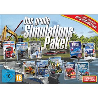 rondomedia Das große Simulations-Paket (Jubiläumsausgabe)