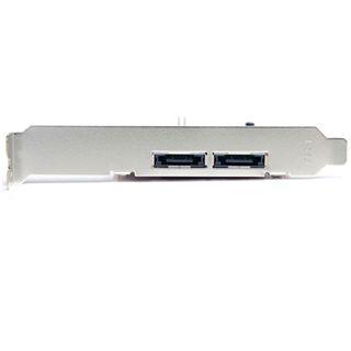 Startech eSATA Controller 2 Port PCIe 2.0 x1 Low Profile retail